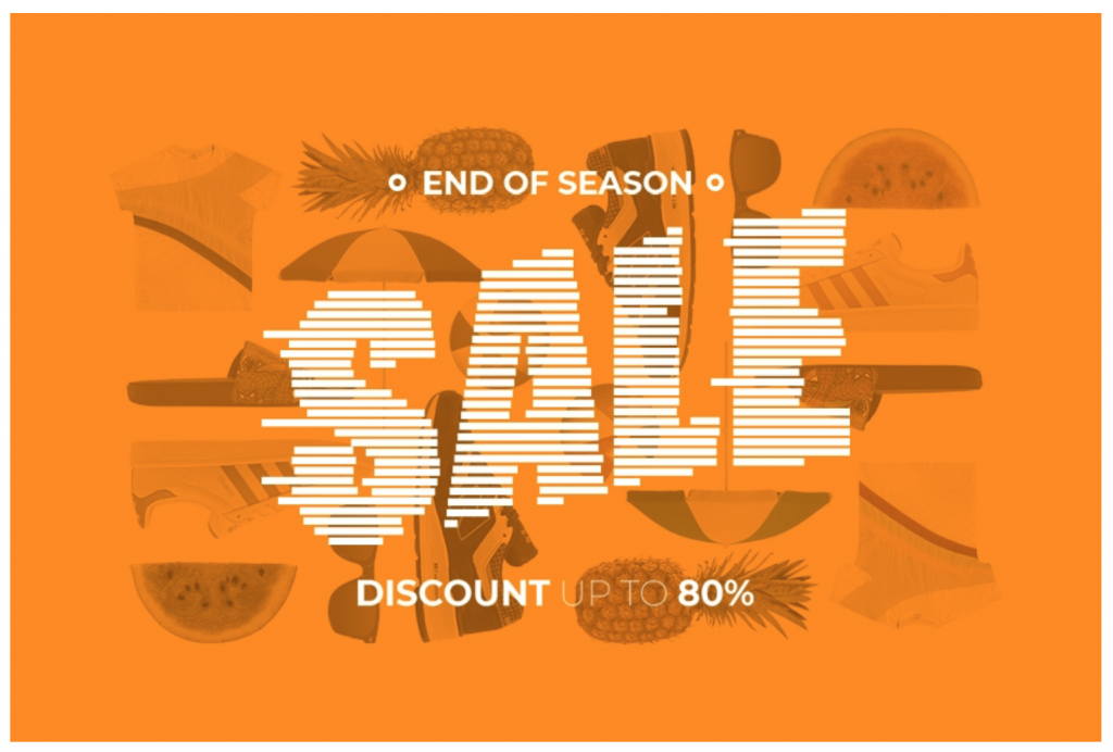 sneakerbaas end of season sale